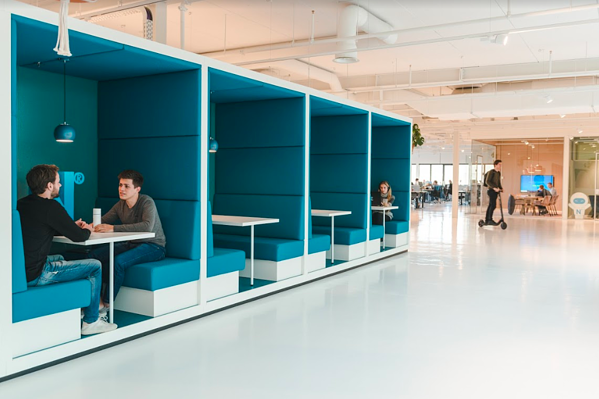 Nmbrs office was designed to make sure all employees have everything they need to work while enjoying it.